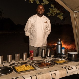 Dinner on safari