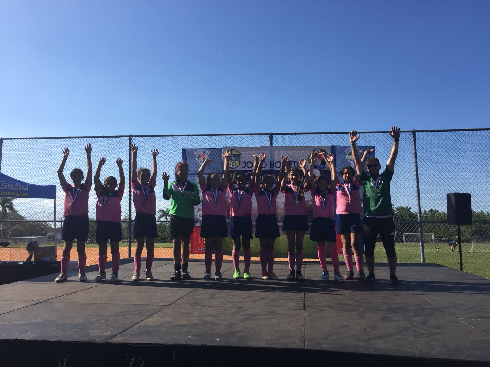 Jogo Bonito Champions U12 Girls