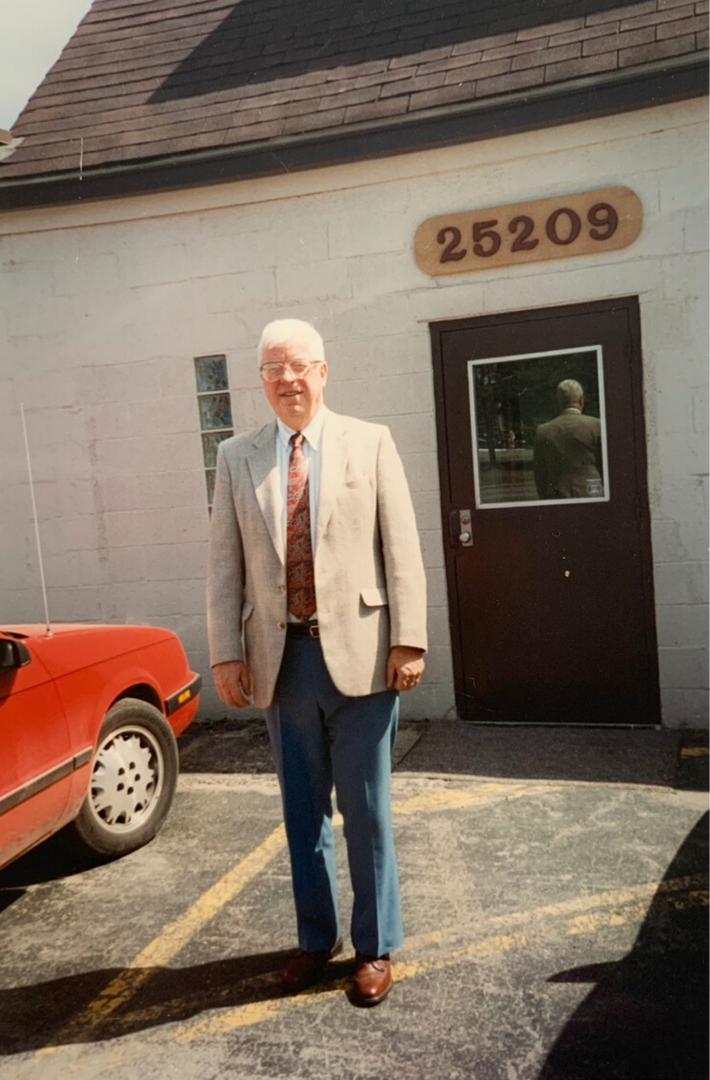 The founder of Air Design, Allen A. McCoy