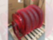 Vehicle Exhaust Hose Reel, Air Design Inc, Michigan, USA, HVAC and Air Products Supplier