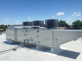 Tempered Makeup Air With Cooling, Air Design Inc, Michigan, USA, HVAC and Air Products Supplier