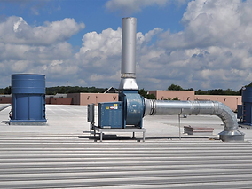 Industrial Roof Exhaust Fans, Air Design Inc, Michigan, USA, HVAC and Air Products Supplier