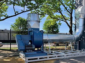 Hartzell Fan at MSU Detroit, Air Design Inc, Michigan, USA, HVAC and Air Products Supplier