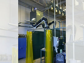 Weld Booth Dust Collector, Air Design Inc, Michigan, USA, HVAC and Air Products Supplier