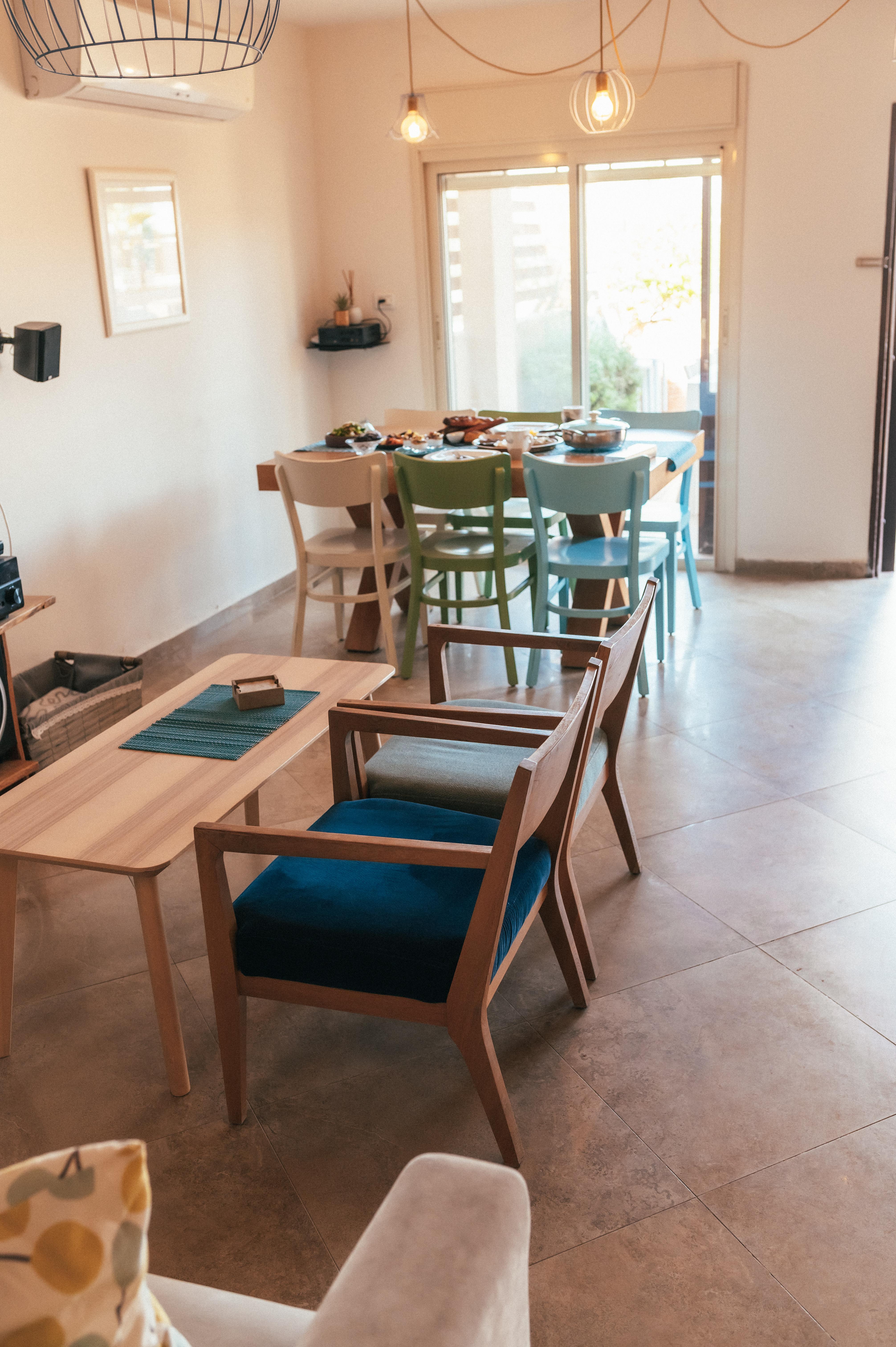 נחל פארן 32 - הסלון ופינת האוכל