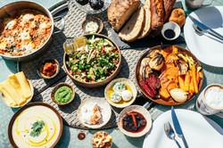 נחל פארן 32 - ארוחת הבוקר מיעל