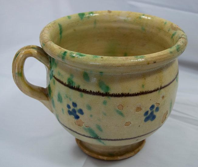 Antique  Rustic Italian Vaso da notte (Potty)