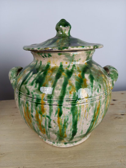 Antique Italian Yeast Jar