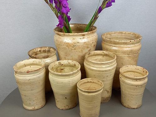 Antique Italian Pharmacy Pot - Large