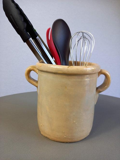 Antique Italian Anchovy Pot - Small