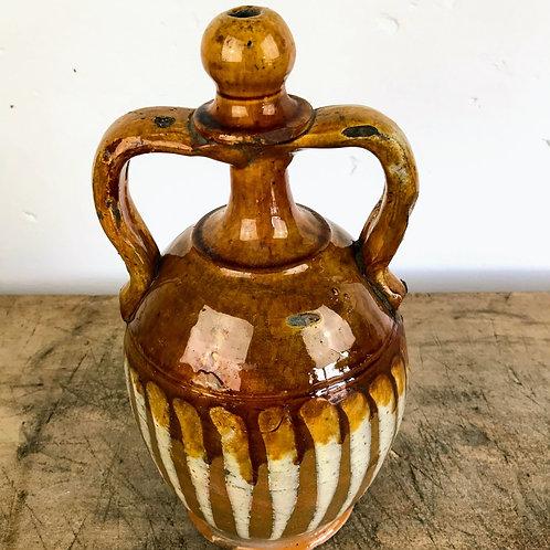 Antique Italian Fiasca c1880