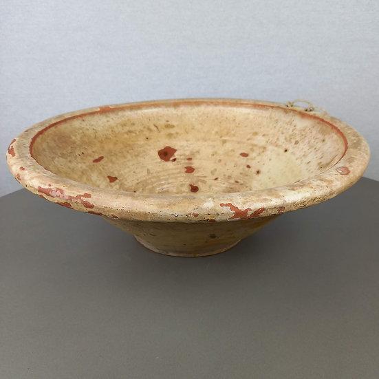 Antique Rare Italian Passata Bowl 43cm