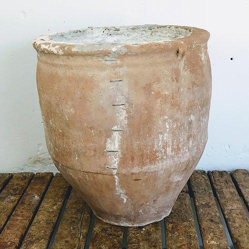 Spanish Limed Terracotta Cosi Pot c1840