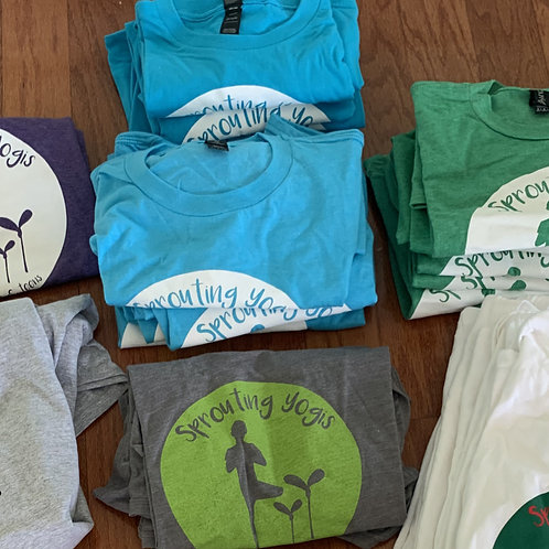 Sprouting Yogis T-shirts