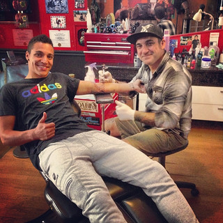 Tatuando a Rodrigo SLB !! #slb #benfica #nn #futebol # diabos
