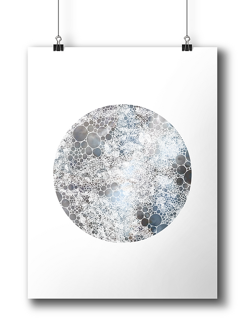 The Moon - A3 - Limited Edition