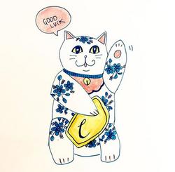 (BECKONING) CAT