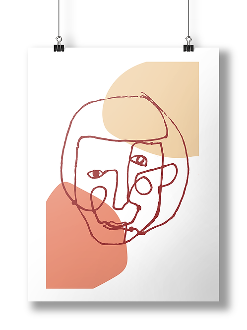 Abstract face A3