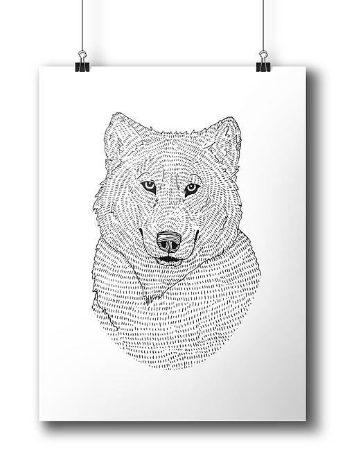 Wolf Circle  - A4