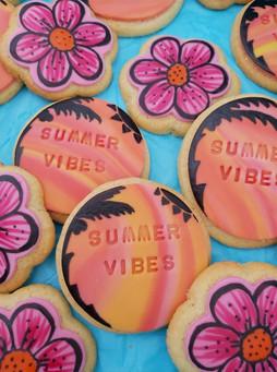 Summer Fondant Biscuits