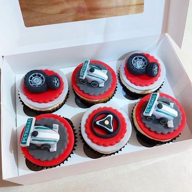 F1 Racing cupcakes