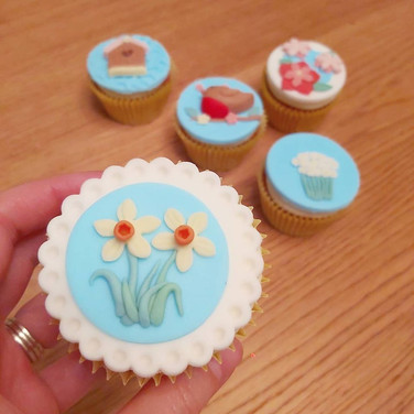 Spring is here cupcakes