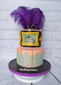 Ru Paul Drag Cake
