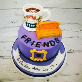 Friends Theme cake.