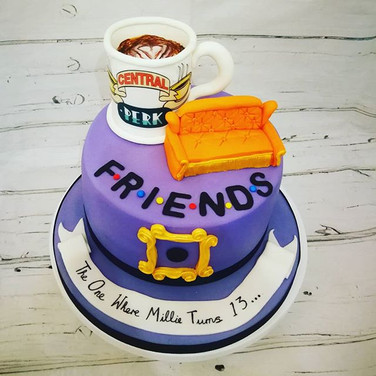 Friends Theme cake.
