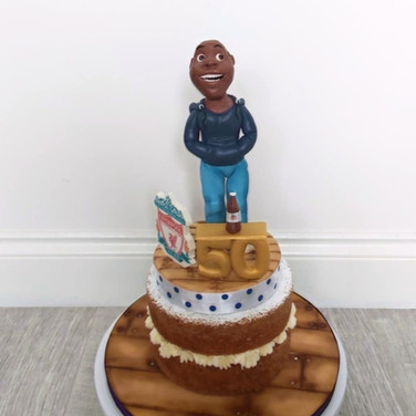 Personalised Topper cakes