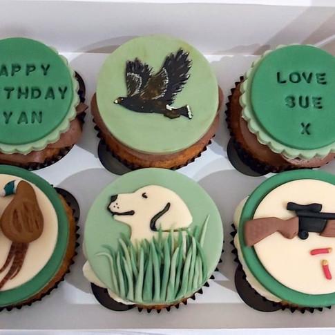 Personalised Fondant Cupcakes
