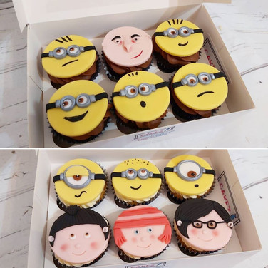 Gru, the girls, and his minions