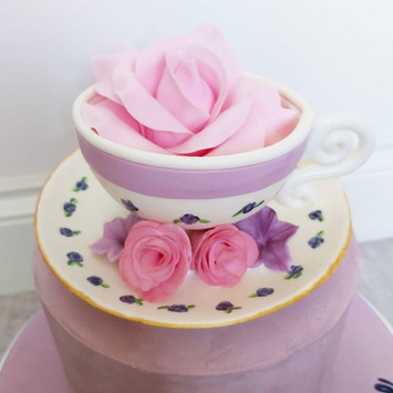 Teacup and Saucer topper