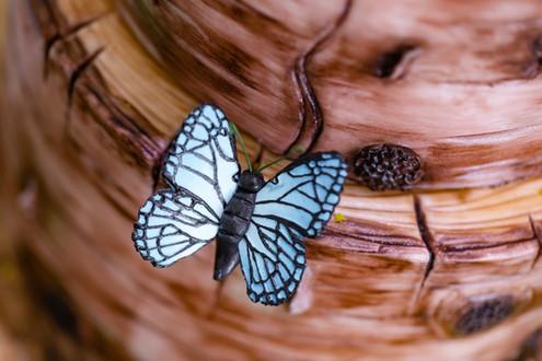 Sugarpaste butterfly