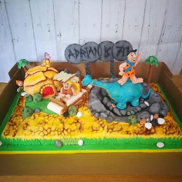 Bedrock Birthday Cake