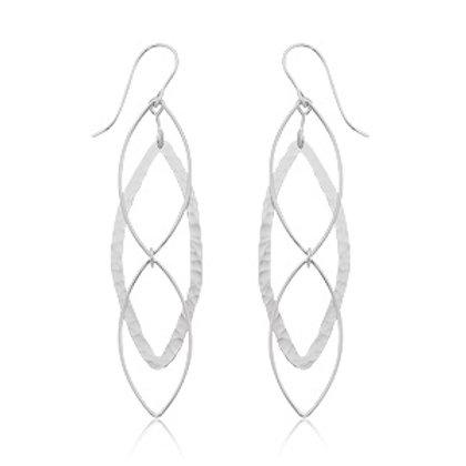 Sterling Silver Dangle Style Earrings