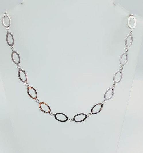 inches traversa products link chains vhn designs s necklace oval silverscape