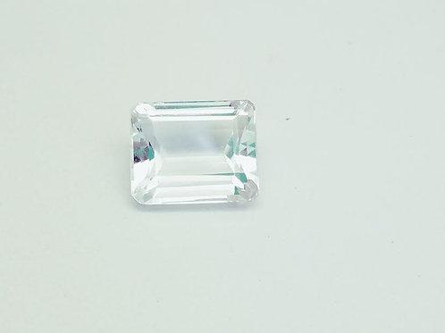 Aquamarine Emerald Shape Loose Stone  9.41