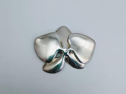 Sterling Silver Freeform Brooch/Pin