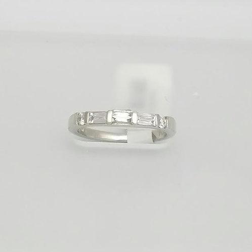 "Platinum & Diamond Designer Band Ring by ""Tycoon"""