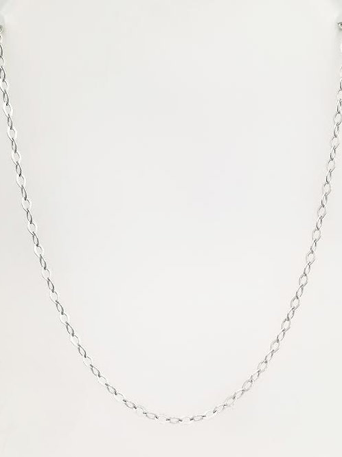 Sterling Silver Cable Link Style Chain