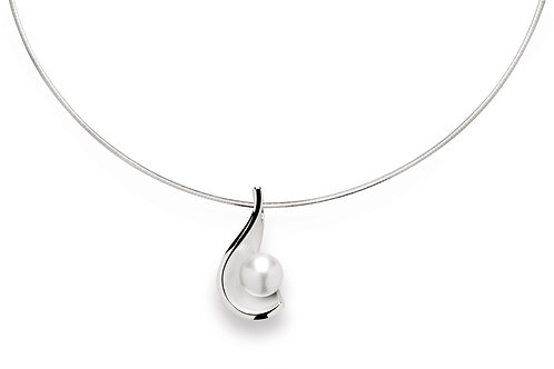 Sterling Silver & Pearl Pendant (chains sold separately)