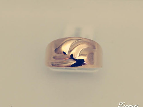 14k Yellow Band Style Ring