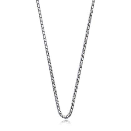"Sterling Silver Venetian Style Chain 20"""