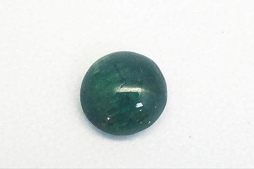 Tourmaline Green Cat's Eye Stone