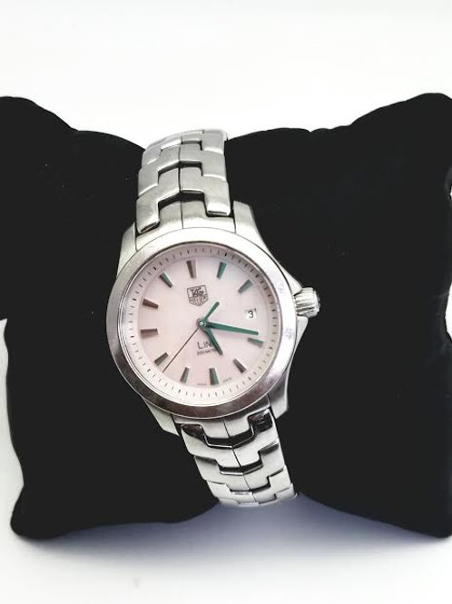 "Stainless Steel Ladies ""Tag Heuer"" Watch"