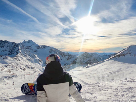 My favourite places to Snowboard