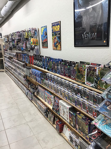We've got a wide selection of collectible toys, books and records at J&L just calling your name!