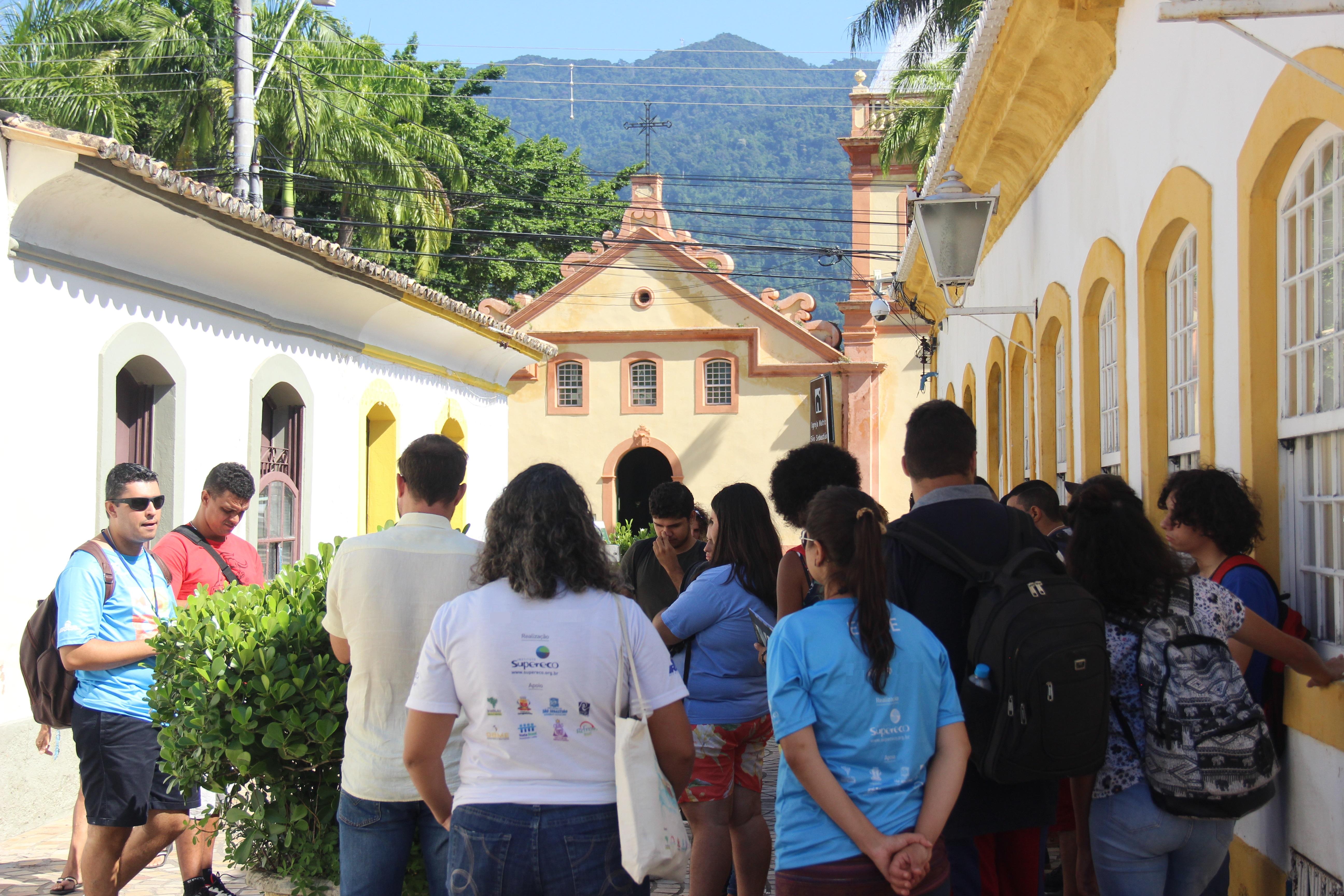 Visita monitorada pelo Centro Histórico