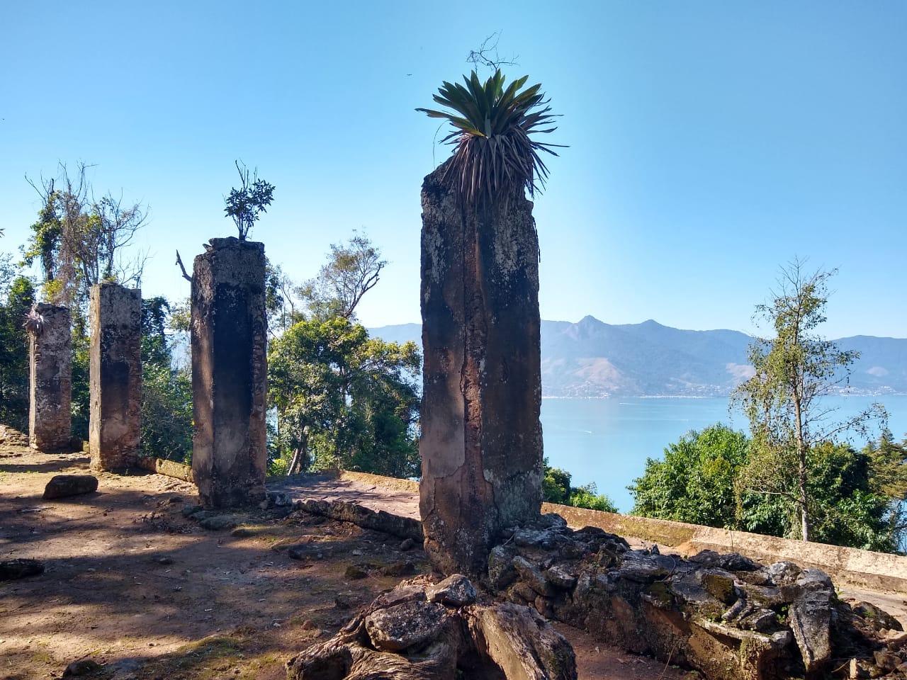 Colunas da capela